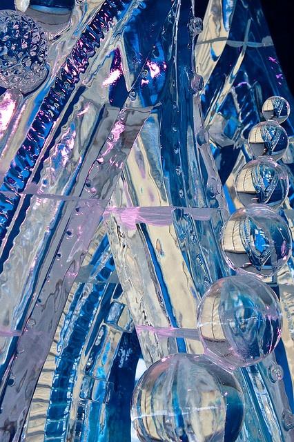 Ice sculpture!Amazing!
