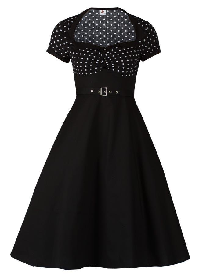 Polka Dot Flare - Rockabilly Clothing - Online Shop für Rockabillies und Rockabellas