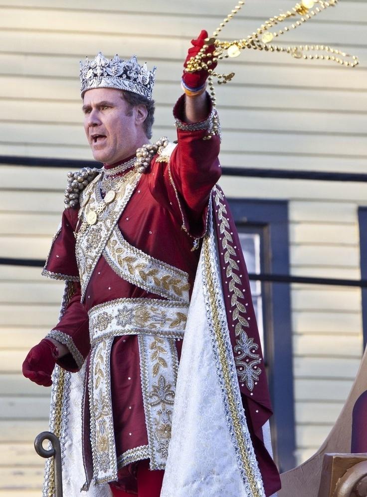 Will Ferrell - King Of Mardi Gras - oh how I miss you Mardi Gras.