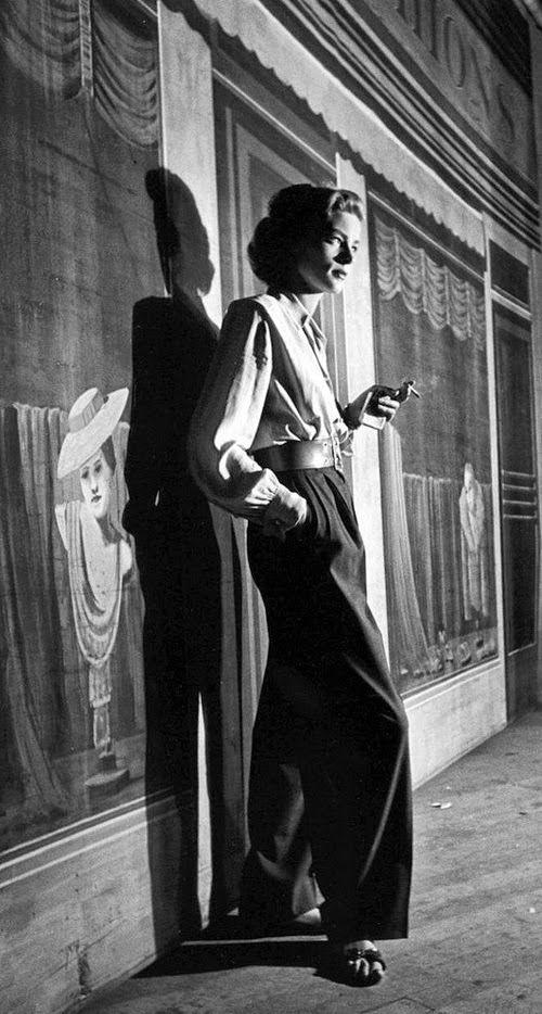 Lauren Bacall Hollywood, 1949: Alfred Eisenstaedt