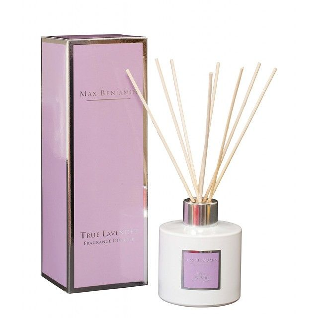 Max Benjamin Fragrance Room Diffuser 150ml in True Lavender