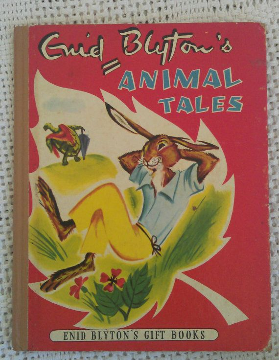 Enid Blyton's Animal Tales. 1954 by avintagesparrowsnest on Etsy, $7.00