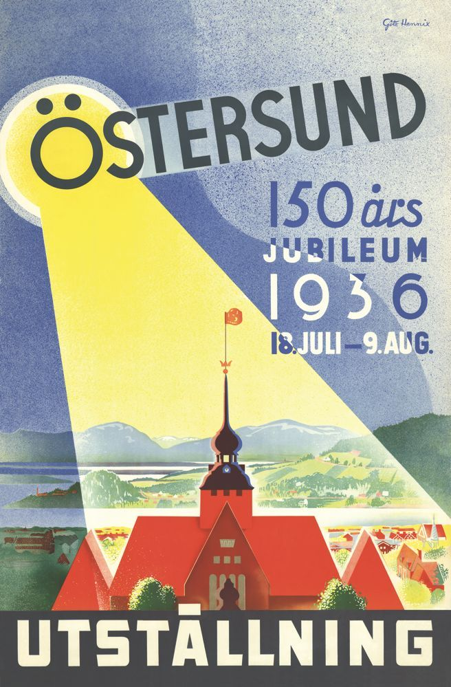 Östersund 150år (Göte Hennix)