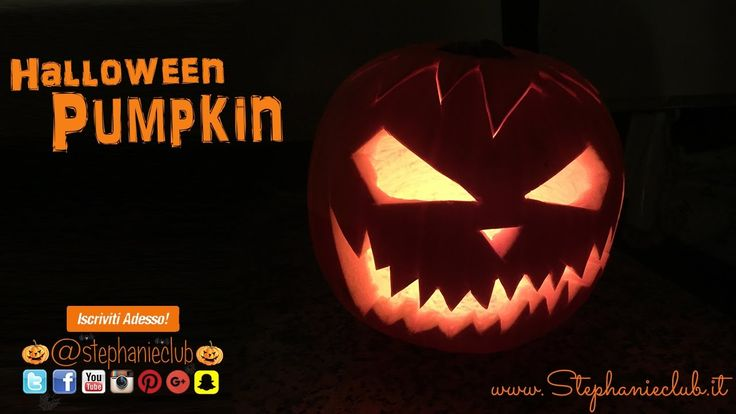 Halloween Pumpkin - Come intagliare una zucca - Jack-o'-lantern | stepha...
