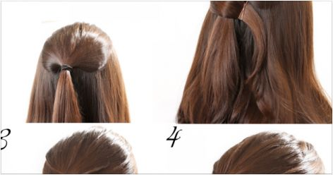 Criss Cross Half Updo Steps By Step | Beauty, Health, Travel and Technology News and Local Services