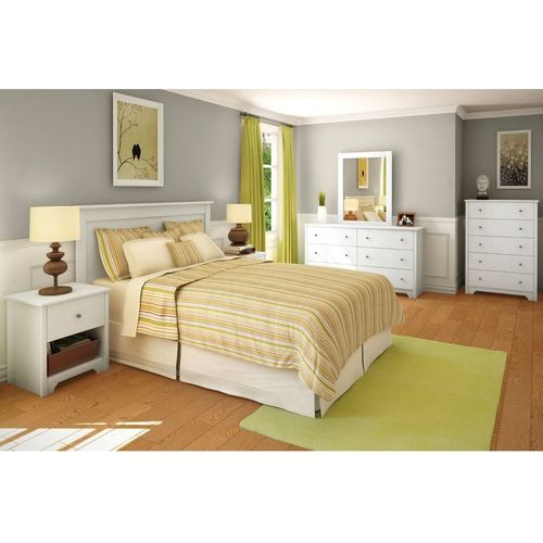 Full/Queen size Headboard in White Finish $127.93