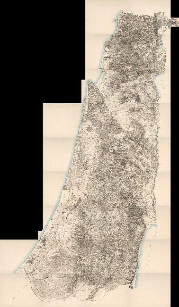 Composite Map of Western Palestine in 26