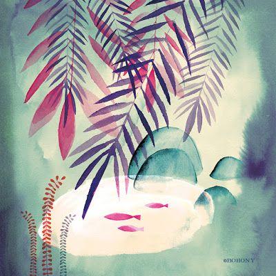 Marbushka: vízfesték • watercolor
