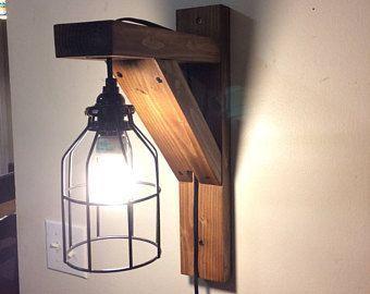 25 pinterest rustic corbel light sconce bedside light rustic lamp wall hanging light rustic mozeypictures Images