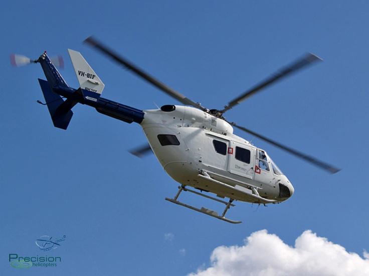 Kawasaki BK117 Coffs Harbour NSW  www.precisionhelicopters.com.au