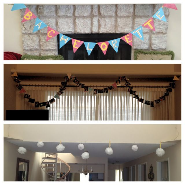 Come What May: DIY Bachelorette Party Decorations Tutorials.
