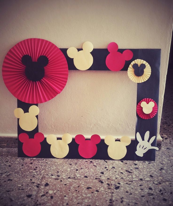 mickey mouse picture frame handmade - Mickey Mouse Picture Frames