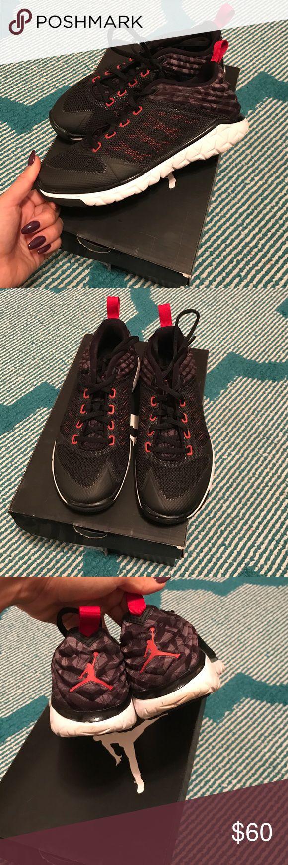 Jordan trainers Excellent condition Jordan flight flex trainers. Grade school size 5.5/Women's 7 Jordan Shoes Athletic Shoes