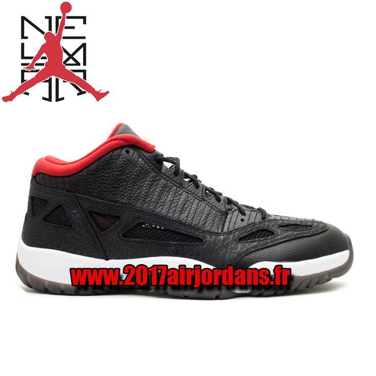 Air Jordan 11 (XI) Low IE – Noir / Université Rouge 306008-001