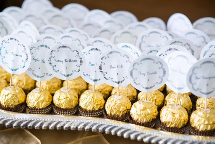 Welcome guests with truffles! | Laura Barnes Photo