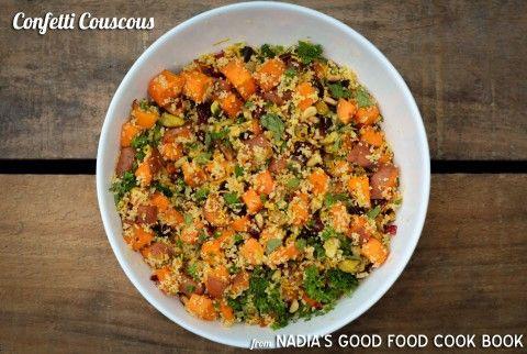 Nadia Lim's Confetti Couscous - nzgirl