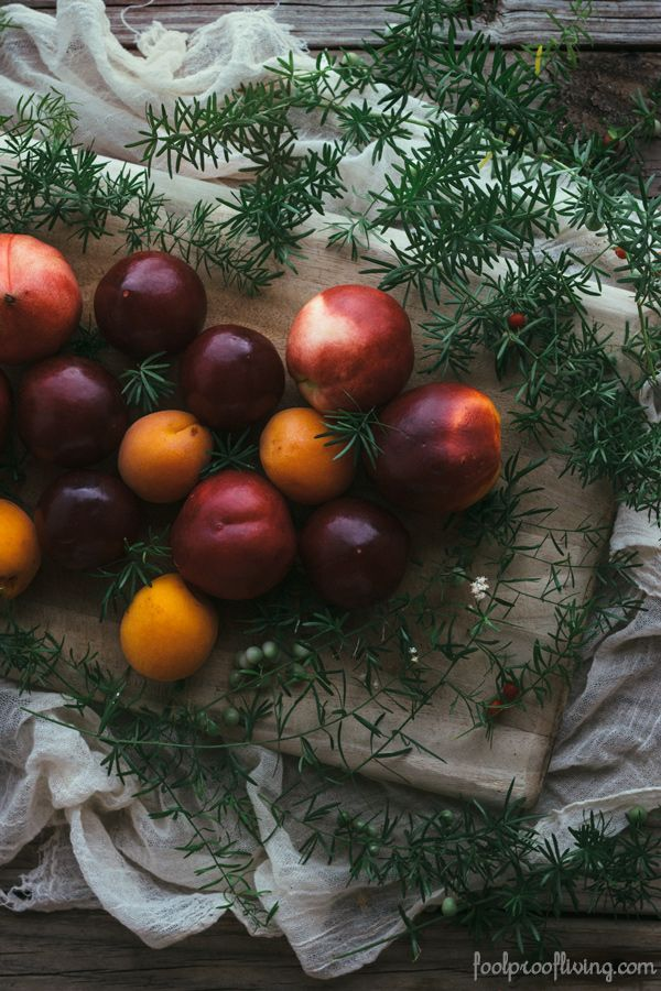 Summer Fruit Crumble {Vegan} I foolproofliving.com