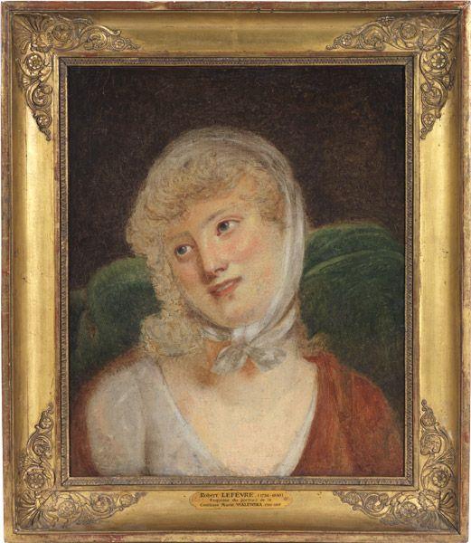 Portrait de Marie Walewska par Lefèvre