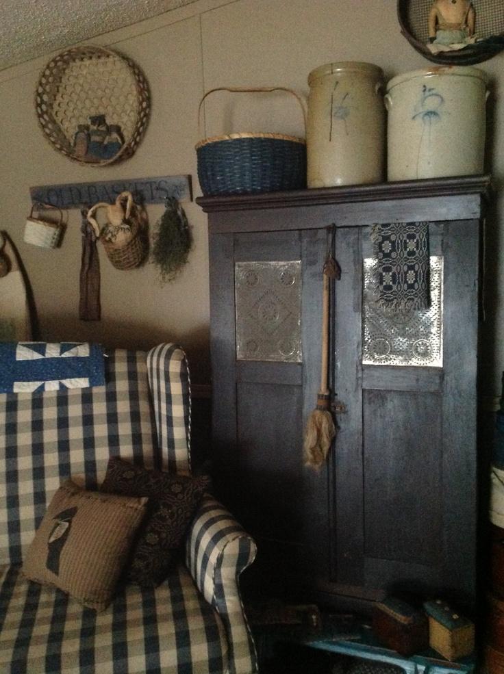 Primitive Living Room Decor: 1000+ Images About Primitive Home Ideas On Pinterest