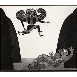 'Gorgon and Taniwha' by Marian Maguire