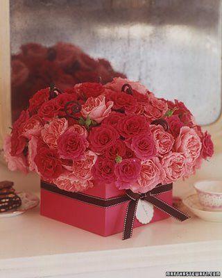 gorgeous roses via martha