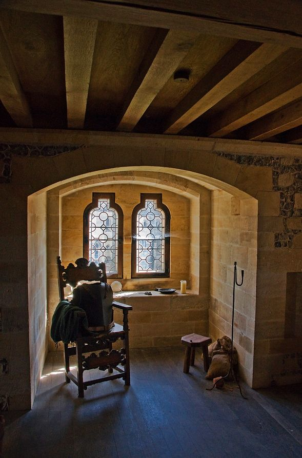 Arundel Castle Chamber || Window & Chair