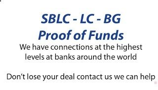 The Retson Tedhekes Blog: FINANCIAL INSTRUMENTS: BG/SBLC/LC/Project Finance/Trade Finance (All Foreign)