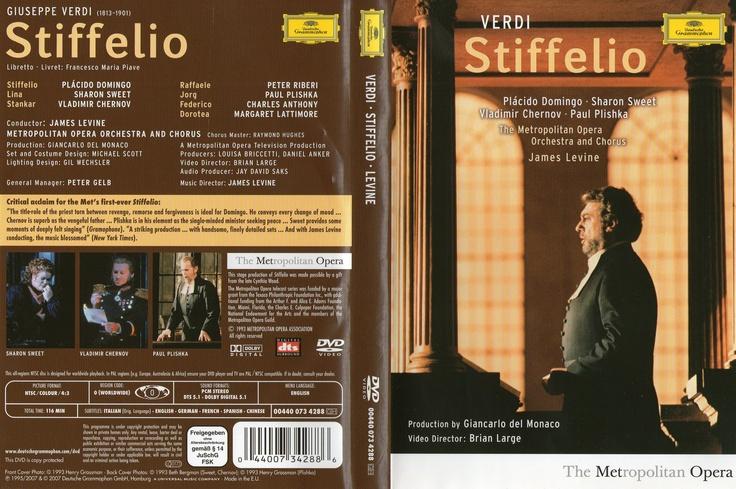 Placido como Stiffelio en la opera de Verdi