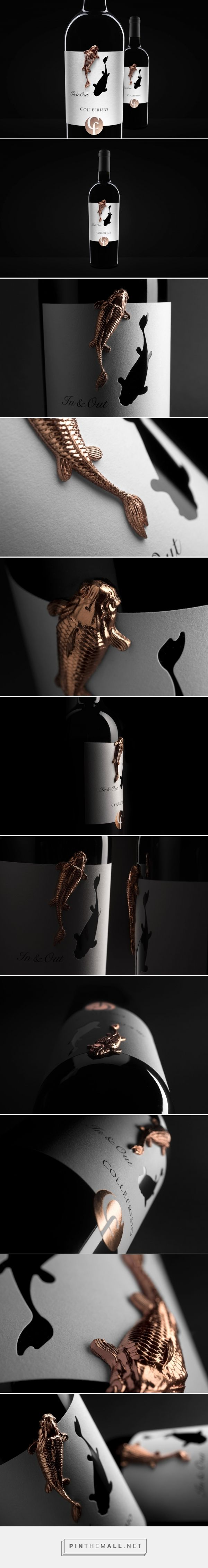 In&Out wine packaging design by Spazio Di Paolo - https://www.packagingoftheworld.com/2018/03/in.html