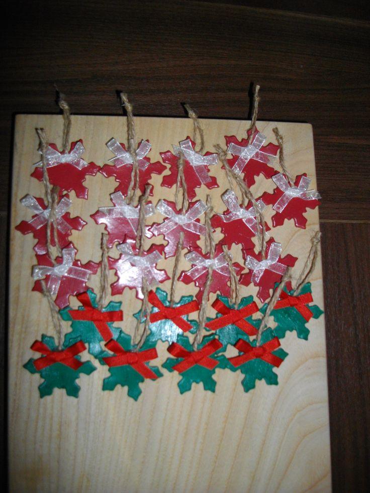 Ozdoby jako dárek pro kolegy na vánoční večírek 2014
