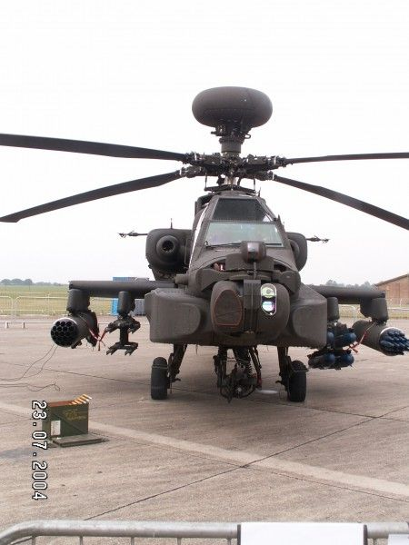 AgustaWestland Apache WAH-64 - WalkAround - The AgustaWestland Apache is a licence-built version of the AH-64D Apache Longbow attack helicopter