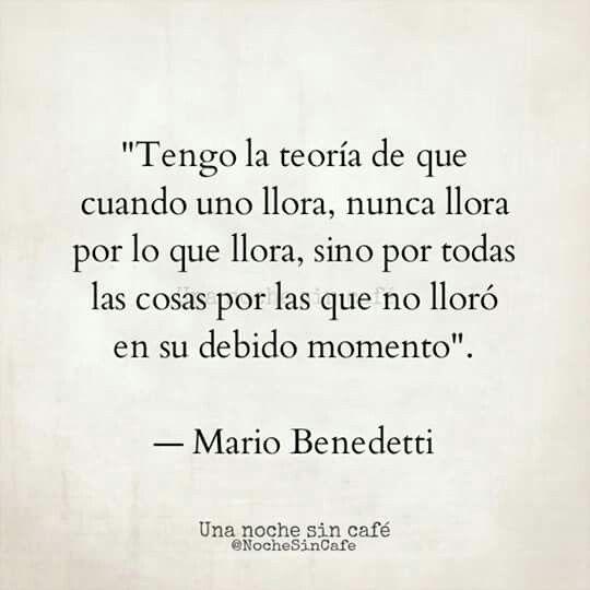 Benedetti forever...