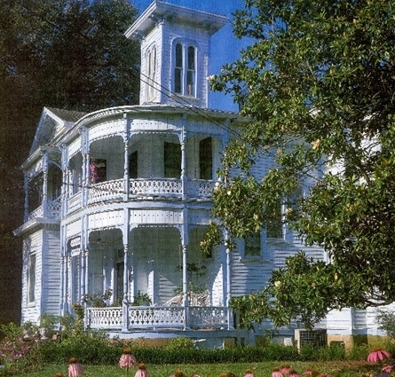 Bowers Mansion Bed and Breakfast, Palestine, Texas.This is