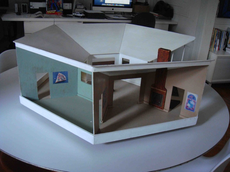 100+ Best Images About Mid Century Doll Houses On