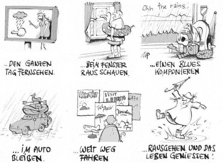 #Pammesberger: Was tun bei Regen im Urlaub? (04.08.2014)
