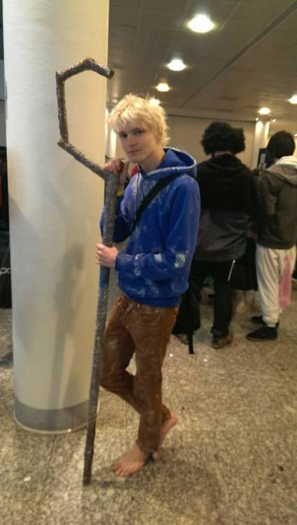 Wow thats the closest cosplay of Jack Frost I've seen!!! can i have him???