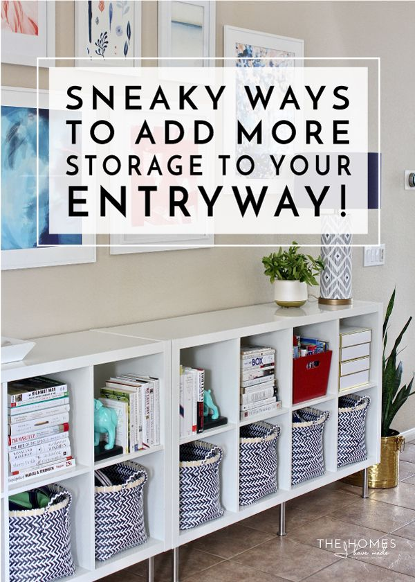 Foyer Storage Zone : Best organizing images on pinterest