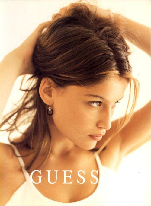 Guess - 1997 Laetitia Casta by Dewey Nicks