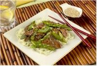 Lamb Stir-fry With Asparagus - California Asparagus Commission, reprinted with permission
