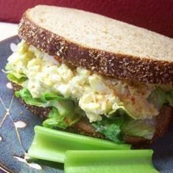 Egg Salad IEggs Salad, Yummy Things, Boiled Eggs, Salad Recipe, Trim Healthy Recipe, Egg Salad, Salad Sandwiches, Sandwiches Recipe, Greek Yogurt