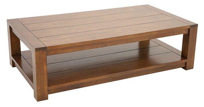 Table Basse Attan 120x65x35cm Double Plateau Infos Et Dimensions Longueur 120 Cm Profondeur 65 C Table Basse Table Basse Rectangulaire Table Basse Bois