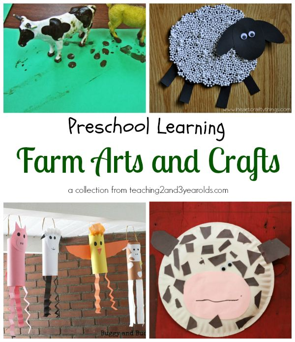 171 best farm theme images on pinterest farms farm for Farm animal crafts for preschool