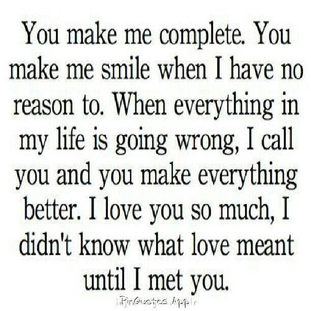 you give my life a meaningful relationship