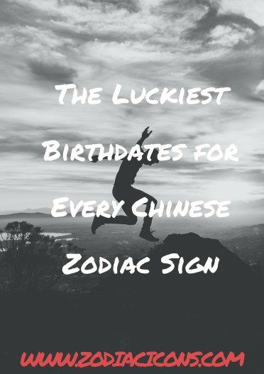 232258227 The Luckiest Birthdates for Every Chinese Zodiac Sign - Zodiacicons  #zodiacicons #zodiacsigns #astrology #horoscopes #zodiaco #love  #dailyhoroscope ...
