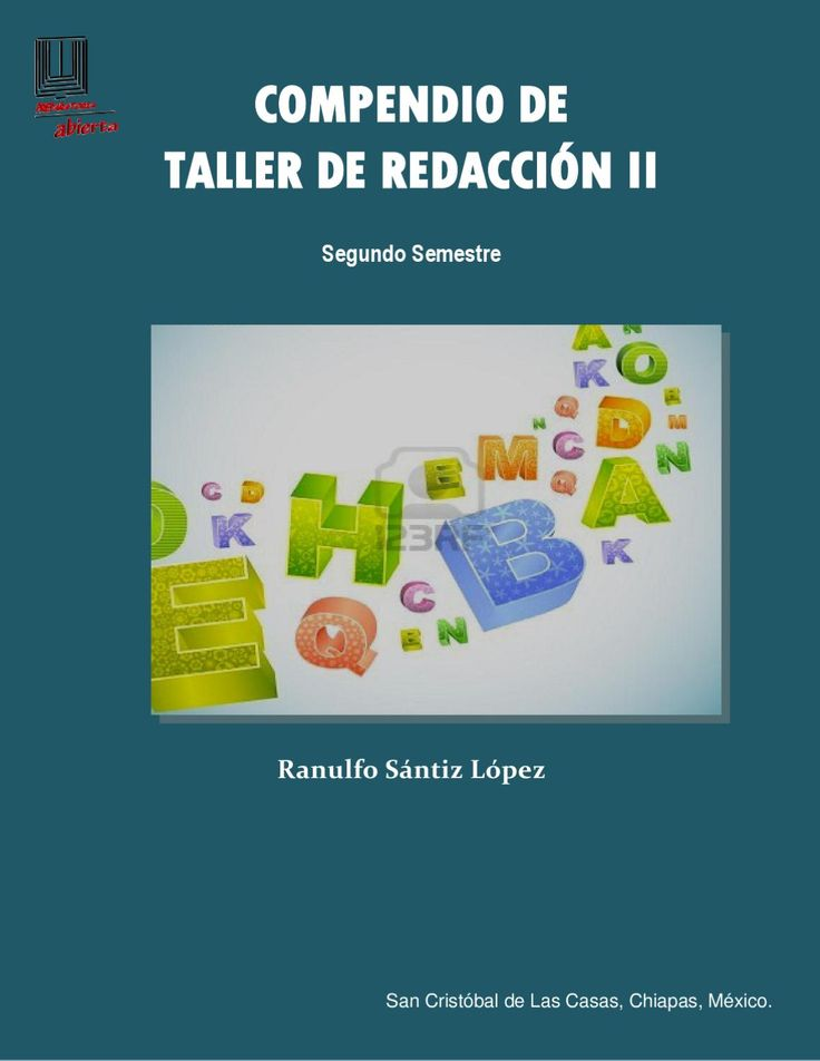 Taller de Redacción II  Preparatoria Abierta, Taller de Redacción II