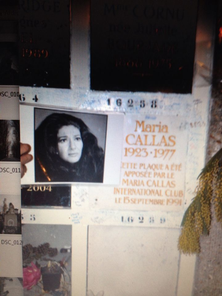 Maria callas died of a broken heart