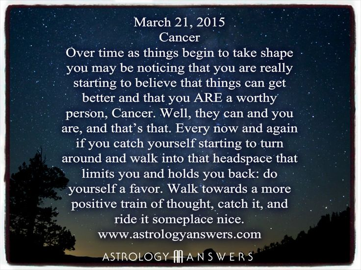 The Astrology Answers Daily Horoscope for Saturday, March 21, 2015 #astrology