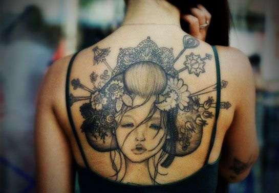 Tattoo Designs For Women And Meanings | Full Tattoo