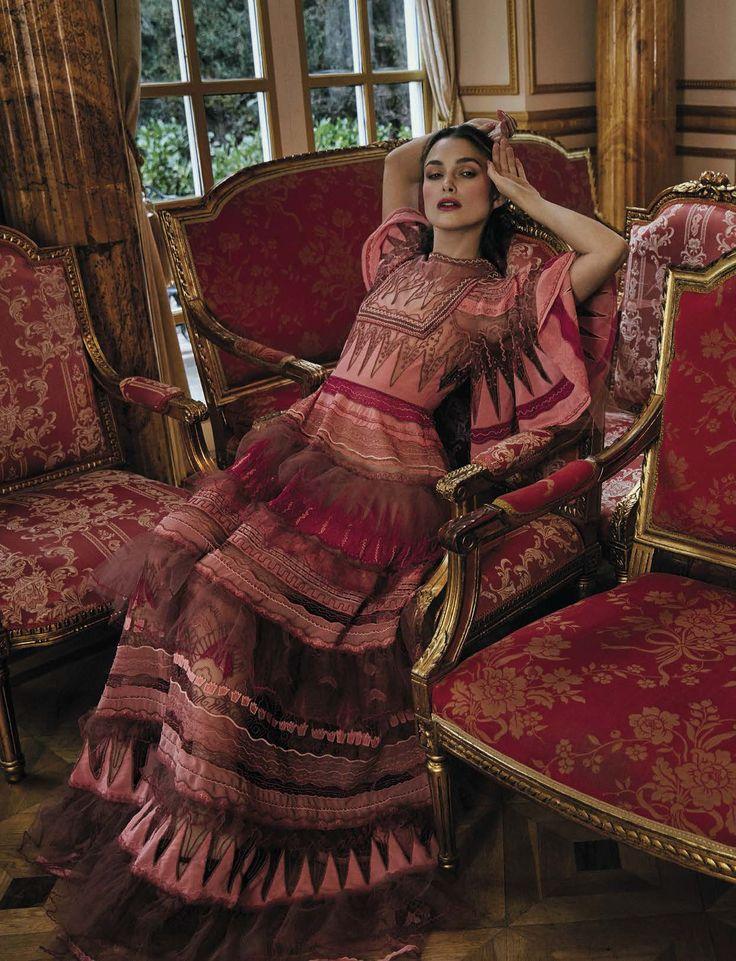 Keira Knightley by Yelena Yemchuck for Vogue Italia April 2017