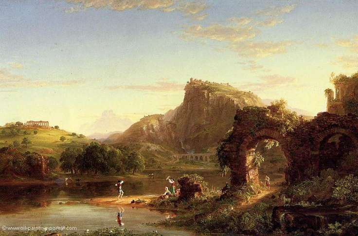 Italian Sunset - Thomas Cole